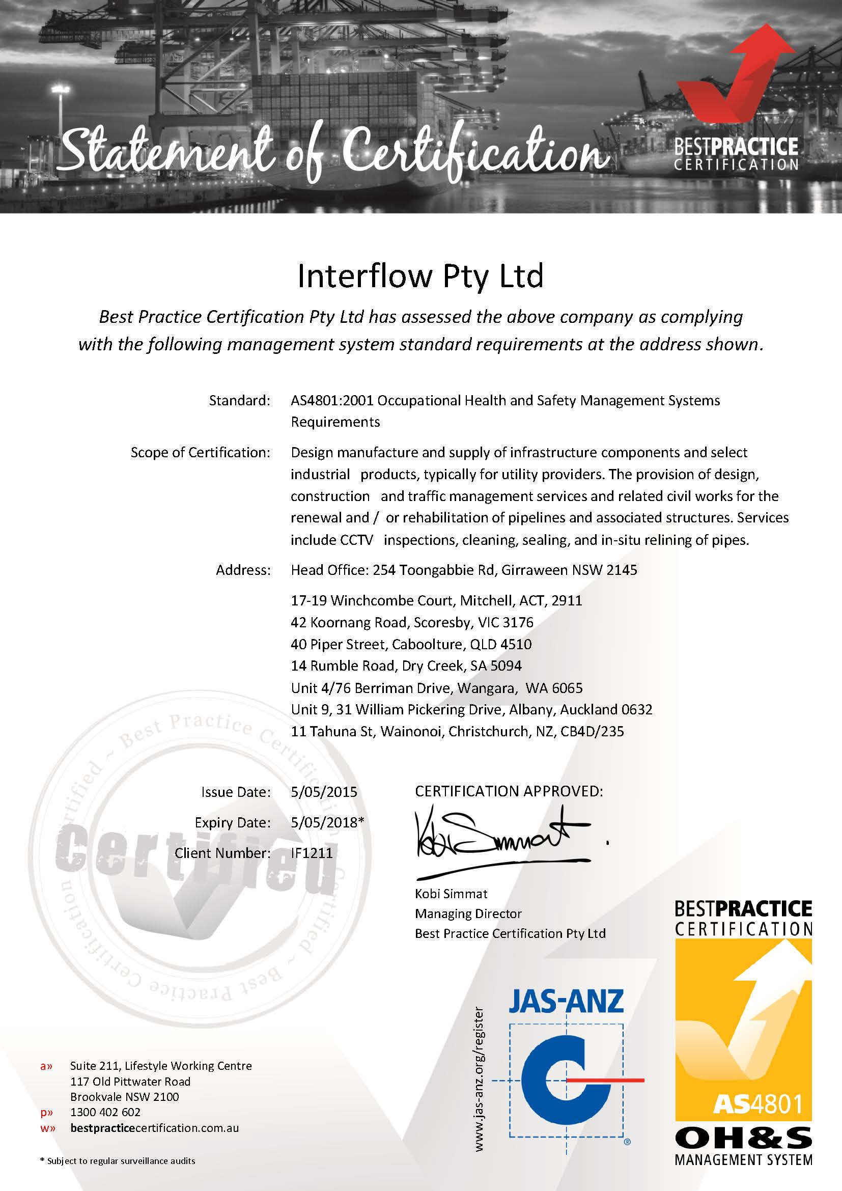 BPC-Interflow-AS4801Cert-20150505