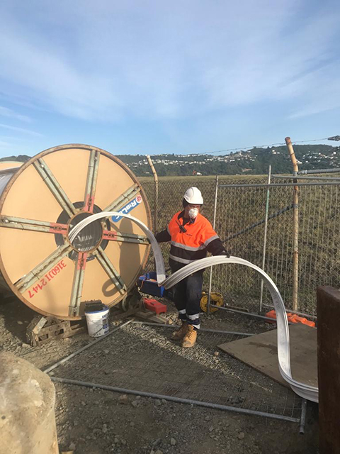 Construction worker uses trenchless technology to deliver successful project outcome